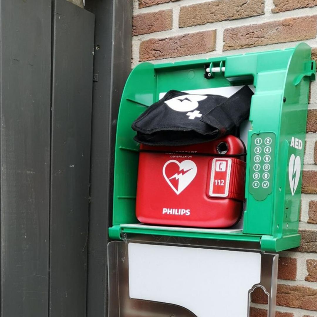 buren in actie voor buurt-AED buurkracht Barsbeek